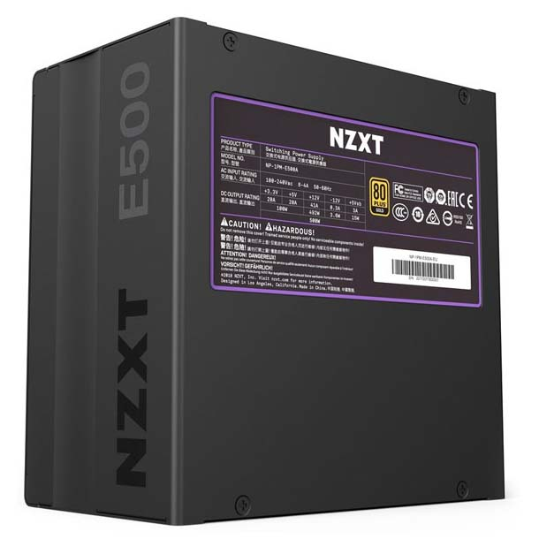 FUENTE 500W NZXT 80 PLUS GOLD