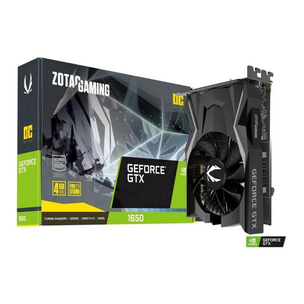 VIDEO GEFORCE GTX 1650 4GB ZOTAC GAMING OC DDR5