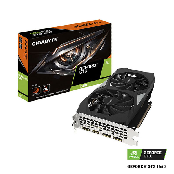 VIDEO GEFORCE GTX 1660 6GB GIGABYTE OC NV